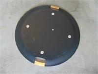 "Wooden Serving Platter - 19"" diameter"