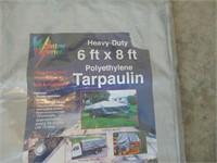 New Heavy Duty Tarp - 6 x 8