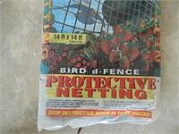 New Protective Bird Netting - 14 x 14