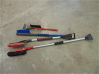 Various Size Snow Brushes