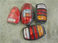 Various Tail Lights