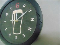 Guiness Battery Wall Clock