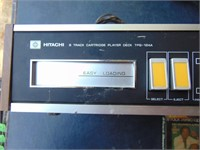 Hitachi 8 Track Player With 8 Tracks
