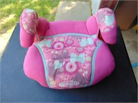 Pink Child Car Booster Seat