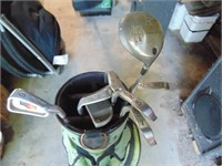 Right Handed Mens Fazer Golf Clubs With Bag