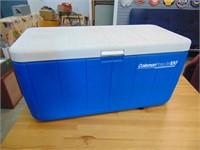 Coleman Poly Lite 100 Blue Cooler