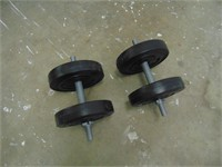 Weight Set - Approximately 125LBS