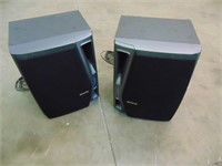 2 AIWA Speakers