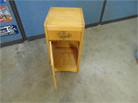 Wooden Night Stand - 14 x 15 x 27