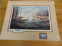 """Ken Zylla - """"A Likely Refuge"""" Commorative Print"""