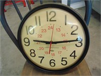 Chaney Instrument Battery Wall Clock