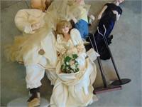 Collectable Porcelain Dolls