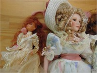 Collectable Porcelain Dolls