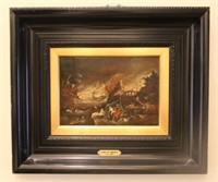 Frederik Van Valkenborch Dark Painting 1570-1623