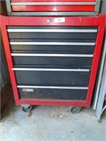 5 Drawer Sears Craftsman Rolling Tool Chest