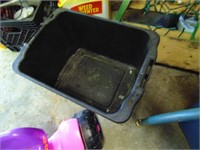 (3) Totes - (1) with Lid