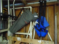 (2) Folding Lawn Chairs - (1) Ford