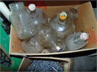 Apple Cider Jugs + Canning Jars