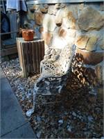 """Metal Garden Bench ~ 36"""" Wide"""