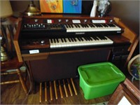 Baldwin Zodiac Electric Organ & Books