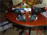 Loon Bookends