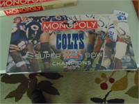 Indianapolis Colts Super Bowl Champion Monopoly