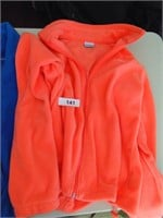 (2) Ladies Columbia Zip Lightweight Fleece Jackets