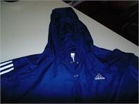 Adidas Pullover Hooded Windbreaker (L)