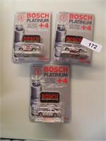 (3) Bosch Platinum NASCAR Collectibles