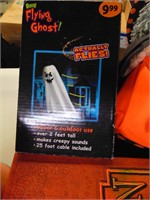 Halloween Decor - Doll, Pumpkin, Flying Ghost