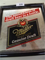 Miller Genuine Draft Mirror