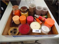 Assorted Candles - Some Battery &