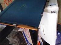 Dry Erase Cork Board & Beveled Edge Mirror