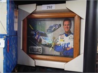 Rusty Wallace NASCAR Clock
