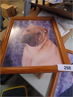(2) Framed Dog Photos