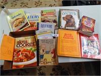 Cookbooks, Dog Book, Bathroom Reader Book