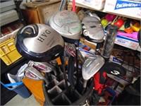 Nickent Irons, Viper Club, Golf Bag, Umbrella