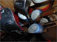Northwestern Clubs, Golf Bag, Other Clubs