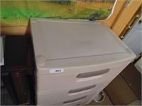 Sterilite 4 Drawer Storage Cabinet