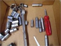 Craftsman Ratchet & Sockets + Other