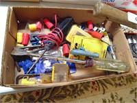 Socket Set, Hammer, Micrometer + Other Tools