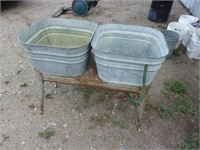 double wash stand