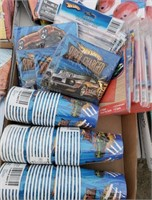 Hot Wheels Party supplies lot