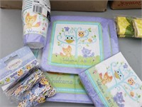 Welcome Baby Lot- Owls, Foxes and Raccoons