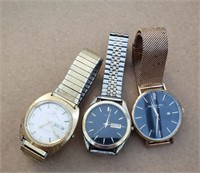 Lot of 3 Watches- Pulsar, Kenneth Cole and