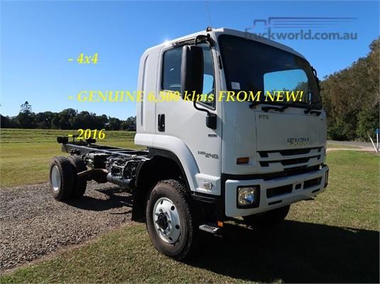 2016 Isuzu FTS 800 4x4 - Trucks for Sale