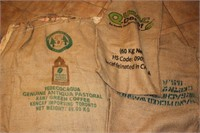 Import Coffee Bags incl. Brasil, Colombia, Antigua
