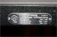 Lot of 5 Whalen Industrial Metal Storage Shelves