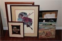Artwork Lot incl. Norman Rockwell
