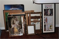 Lot incl. Paintings, Frames, and Michigan Home